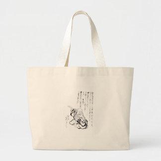 Katsushika Hokusai Canvas Bags