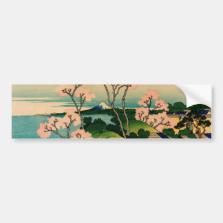 Katsushika Hokusai Bumper Sticker