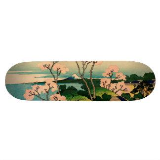 Katsushika Hokusai Custom Skateboard