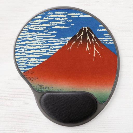 Katsushika Hokusai - Fine Wind, Clear Morning Gel Mouse Pad