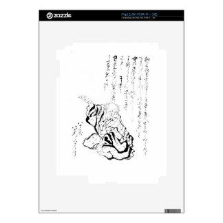 Katsushika Hokusai iPad 2 Decal