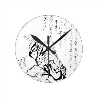 Katsushika Hokusai Reloj De Pared