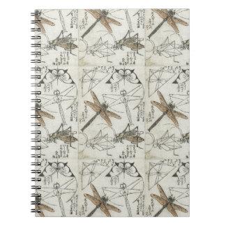 Katsushika Hokusai's Insects Notebook