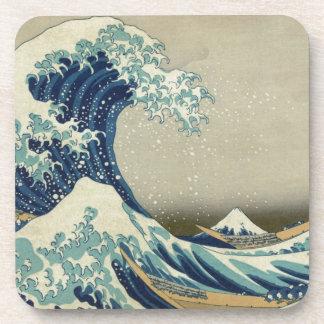 Katsushika Hokusai: The Great Wave at Kanagawa Beverage Coaster