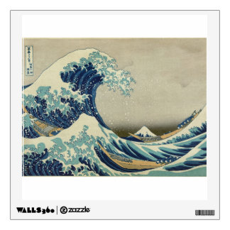 Katsushika Hokusai: The Great Wave at Kanagawa Wall Sticker