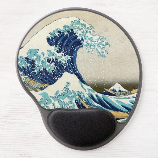 Katsushika Hokusai - The Great Wave of Kanagawa Gel Mouse Pad