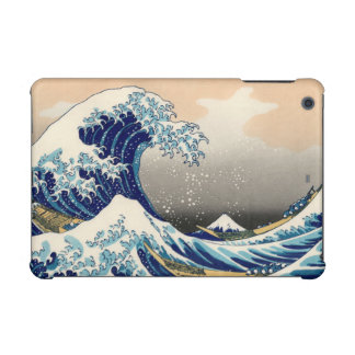 KATSUSHIKA HOKUSAI - The great wave off Kanagawa iPad Mini Cases