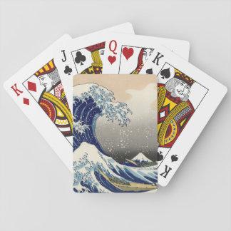 KATSUSHIKA HOKUSAI - The great wave off Kanagawa Playing Cards