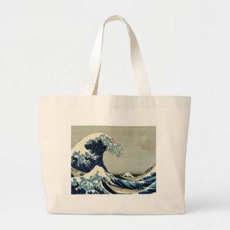 Katsushika Hokusai's Great Wave off Kanagawa Bags