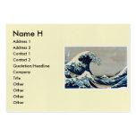 Katsushika Hokusai's Great Wave off Kanagawa Large Business Cards (Pack Of 100)