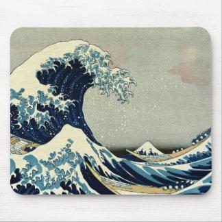 Katsushika Hokusai's Great Wave off Kanagawa Mouse Pad