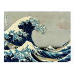 Katsushika Hokusai's Great Wave off Kanagawa Post Cards