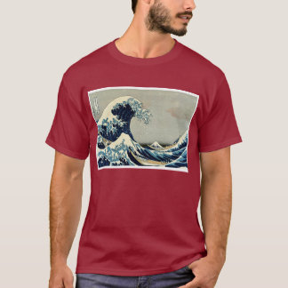 Katsushika Hokusai's Great Wave off Kanagawa T-Shirt