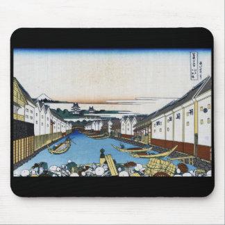 Katsushika north 斎 '冨 嶽 36 scene Edo Nihonbashi' Mouse Pad