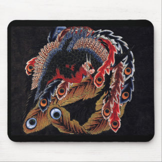 Katsushika north 斎, rock pine institute 'eight one mouse pad