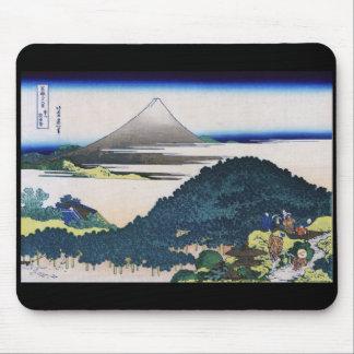 Katsushika north 斎 'wealth 嶽 36 scene Aoyama 圓 Mouse Pad