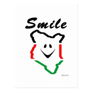 KattCraft: Kenyan Smile Postcard
