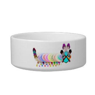 Katter Pella Caterpillar Pet Dog Cat Bowl