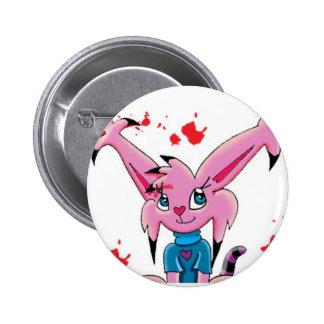 Kattin Kandie Pinback Button