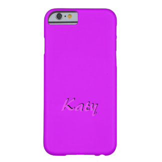 Katy Customized Pink iPhone case