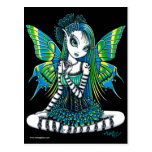 Katy Green Tattoo Fairy Postcard