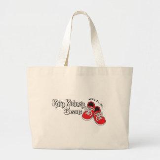Katy Kidney Beans Jumbo Tote Bag