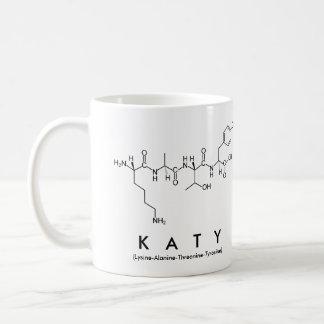 Katy peptide name mug