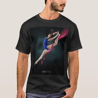 Katya's Ballerina Jump Pin Up T-shirt