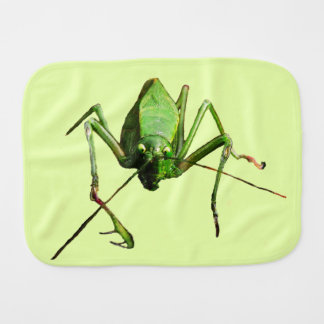 Katydid Burp Cloth