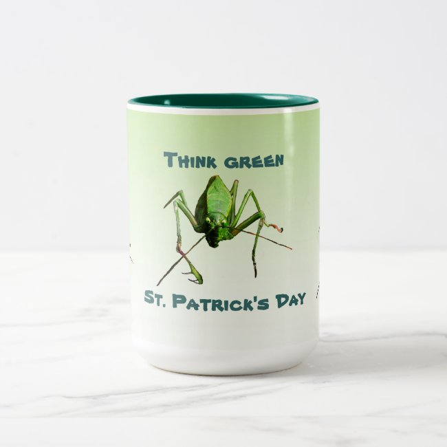 Katydid St. Patricks Day