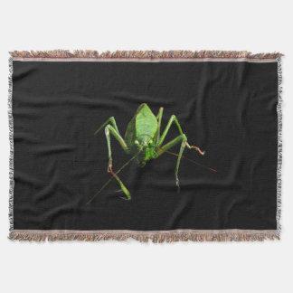 Katydid Throw Blanket
