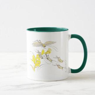 Katydids and Toadflax Mug