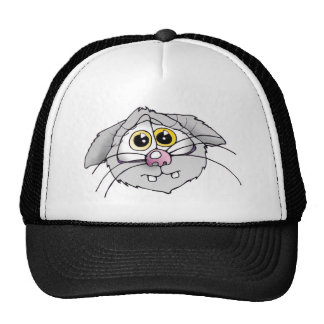 katze cat, cats, katzen, mütze, cap gorros bordados