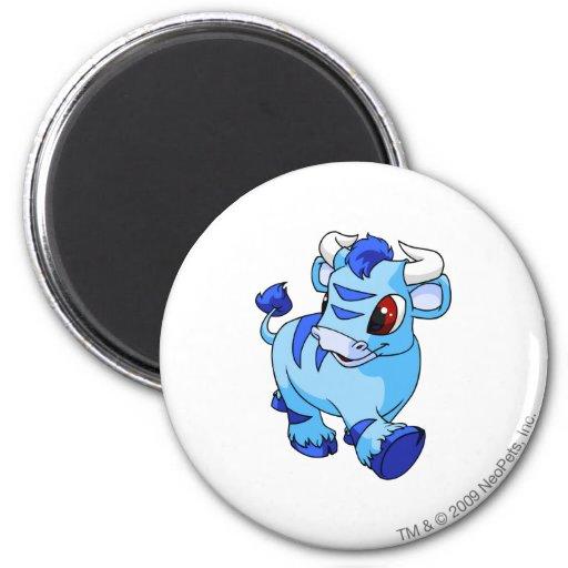 Kau Blue 2 Inch Round Magnet
