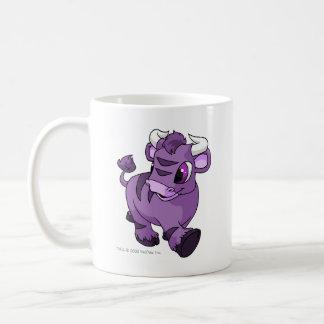 Kau Purple Classic White Coffee Mug