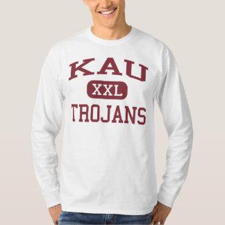 Kau - Trojans - Kau High School - Pahala Hawaii T-Shirt