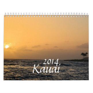 Kauai 2014 calendar