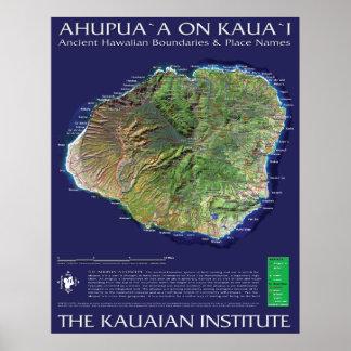 Kauai Ahupuaa Posters