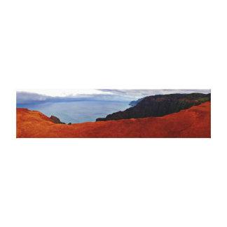 Kauai - barranco de Waimea Lienzo Envuelto Para Galerías