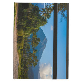 Kauai beach and mountains iPad air cover
