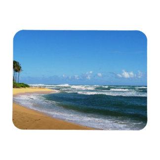 Kauai Beach Rectangular Photo Magnet