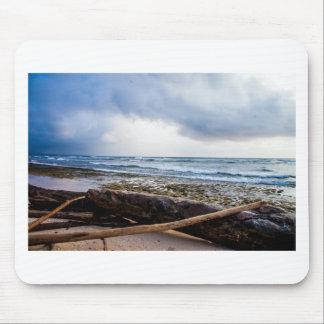 Kauai beach with driftwood mousepads