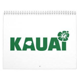 Kauai Calendar
