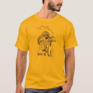 Kauai, camiseta del gallo de los hombres del HI