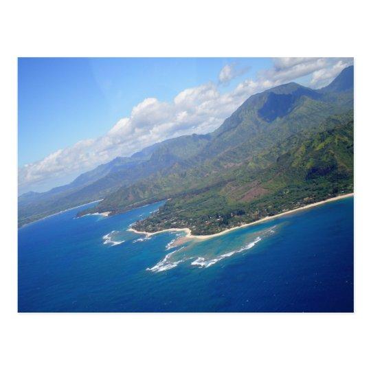 Kauai Coast, Hawaii Postcard