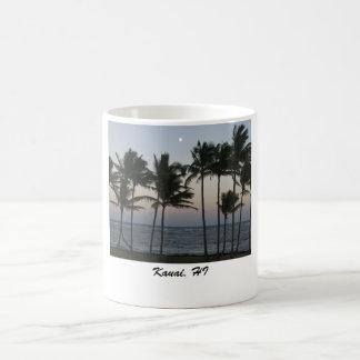Kauai East Shore Full Moon, Kauai, HI Coffee Mug