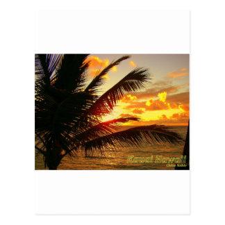 Kauai Hawaii at Dawn Postcard
