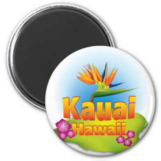 Kauai, Hawaii Desgin Magnet