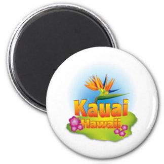 Kauai Hawaii Desgin Refrigerator Magnets