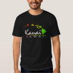 KAUAI Hawaii (Distressed Design) T Shirt